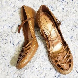Bronx Pilar Leather Heels 8.5